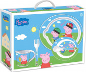 Conjunto Refeição Porquinha Peppa