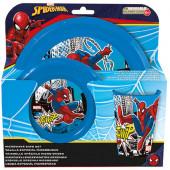 Conjunto Refeição Spiderman 3 Peças