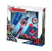 Conjunto relogio Aventura Avengers