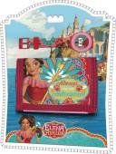Conjunto relogio digital + carteira de Elena De Avalor