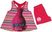 Conjunto Rosa calção e t-shirt Poppy