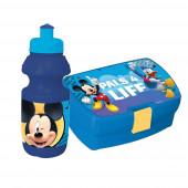 Conjunto Sanduicheira + Garrafa Plástico Mickey