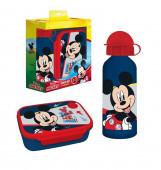 Conjunto Sanduicheira Microondas + Cantil Mickey Disney
