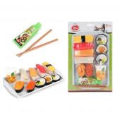 Conjunto Sushi Comida Japonesa