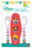 Conjunto Talheres + Caixa Mickey Mouse
