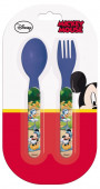 Conjunto talheres Mickey Disney azul escuro