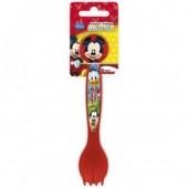 Conjunto talheres vermelhos Mickey Disney
