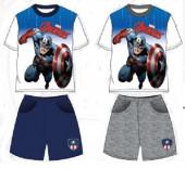 Conjunto Verão Avengers Capitão América Sortido