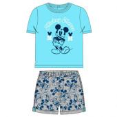 Conjunto Verão Bebé Mickey Azul