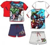 Conjunto Verão full print Marvel Avengers