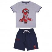 Conjunto Verão Spiderman Cinza