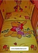 Conjunto winnie the pooh cama de grades
