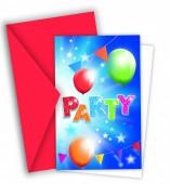 Convites Fabulous Party - 6 Und