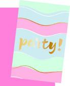 Convites festa Elegant Party 6 unid