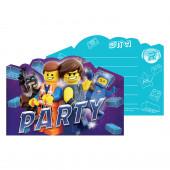 Convites Lego Movie 2 8 uni