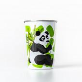Copo Aço Inoxidável Water Revolution Panda 300ml