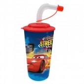Copo c/ palhinha 3D Disney Cars RSN