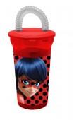 Copo c/ palhinha da Ladybug - 430ml