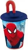Copo c/ palhinha Marvel Ultimate Spiderman