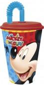 Copo c/ Palhinha Mickey 430 ml