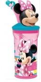 Copo c/ palhinha Minnie Disney 3D