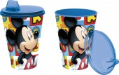 Copo c/ tampa de Mickey Mouse - Icons