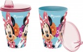 Copo c/ tampa de Minnie Mouse - Bloom