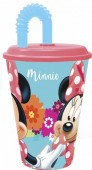 Copo c/ tampa e palhinha Minnie Disney  - Bloom