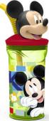 Copo com palhinha Mickey 3D
