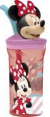 Copo com palhinha Minnie 3D