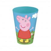 Copo de plástico de Peppa Pig - 430ml