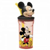 Copo figura Mickey c/ Palhinha