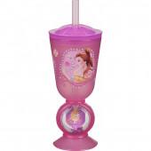 Copo Palhinha Princesas Disney