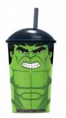 Copo palinha Avengers Hulk