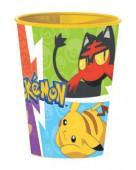 Copo plástico 260ml de Pokemon