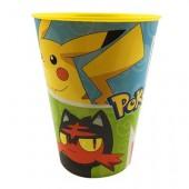 Copo plástico 430ml de Pokemon