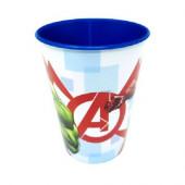 Copo Plástico Avengers Marvel 260ml