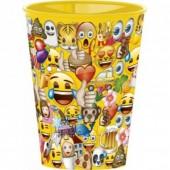 Copo Plástico Emoji 430ml