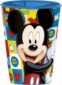 Copo plástico grande de Mickey Mouse 260 ml - Icons