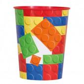 Copo Plástico Lego Block Party