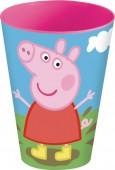 Copo plástico Peppa Pig