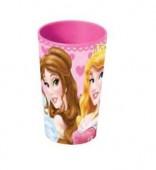 Copo Plástico Princesas Disney