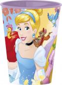 Copo Plástico Princesas Forever 260ml