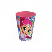Copo Plástico Shimmer and Shine 430ml