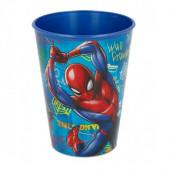 Copo Plástico Spiderman 260ml