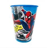 Copo Plástico Spiderman Streets 260ml