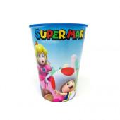 Copo Plástico Super Mario 260 ml