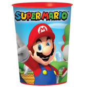 Copo Plástico Super Mario Bros