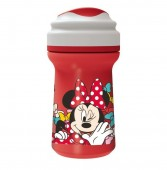 Copo Premium com tampa 310ml  Minnie- Color Bows