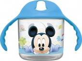Copo transparente de Mickey Mouse